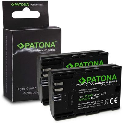 2x Premium Bateria LP-E6