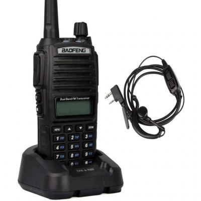 Baofeng UV-5RTP Walkie Talkie Transmisores-Receptores Triple-Power 8//4//1W Double Bande VHF//UHF Radio Solo UV-5RTP