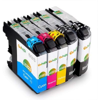 Gohepi LC223 Alta Capacidad Cartuchos de tinta Reemplazo para Brother LC223 Compatible con Brother MFC-J5320DW J480DW J5720DW J5625DW J4620DW J4420DW J880DW J5620DW J680DW DCP-J4120DW J562DW
