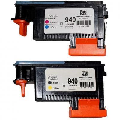 Wolfgray 2 HP940XL 940 Paquete Cabezal de impresión para HP Officejet Pro 8000 8500 Hp 940 Cabezal de impresión C4900A C4901A para HP Officejet Pro 8000 8500 8500A 8500A Plus 8500A