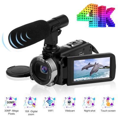 Videocamara Cámara De Video 4k Ultra Hd