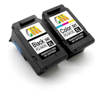 Cmcmcm Remanufacturado Cartuchos Tinta Reemplazo Para Canon 540xl 541xl