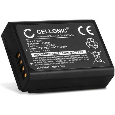 Cellonic Batería Premium Compatible Con Canon Eos 1100d 1200d 1300d Eos 1d X Eos 2000d Eos 4000d Eos Kiss X50 Kiss X70 Kiss X80 Eos Rebel T3