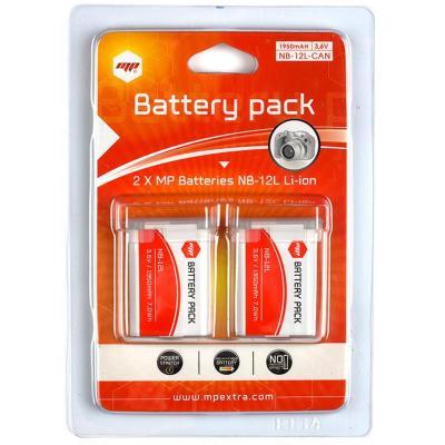 2 x baterías NB12L