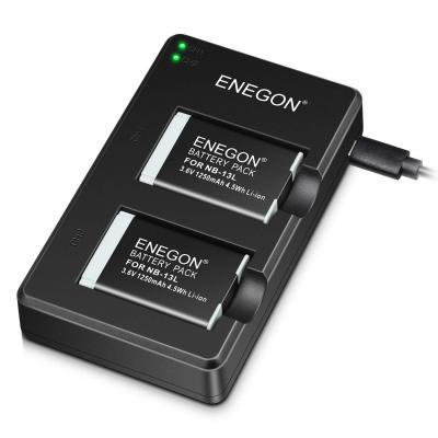 ENEGON NB-13L Paquete De Baterías De Lones De Litio