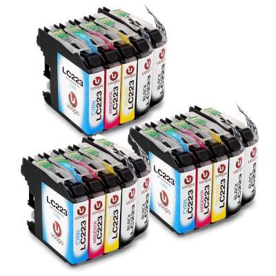 Uoopo LC223XL Compatible Cartuchos de tinta Brother LC223