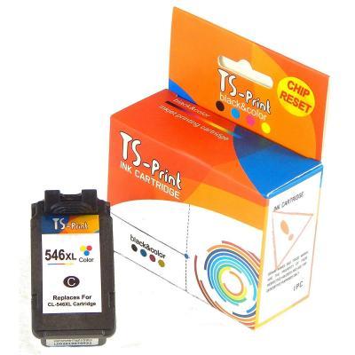 Ts-print Cartucho De Tinta Compatible Para Canon Cl-546