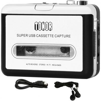Tonor Convertidor Usb Cinta Audio Cassette A Mp3