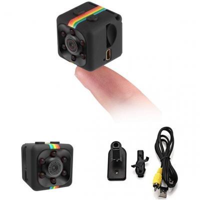 SODIAL Camara Vision nocturna Grabador de video 1080P HD portatil pequeno con Camara de vision nocturna y Deteccion de movimiento para DV grabador de video