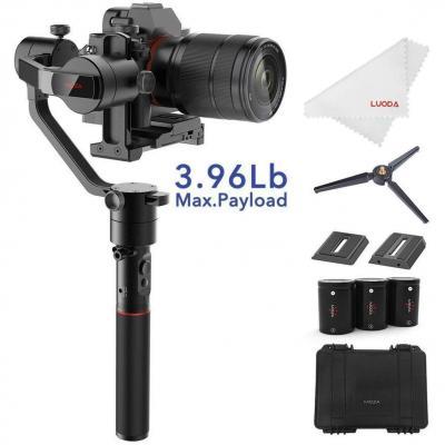 MOZA AirCross Estabilizador de cardán de 3 Ejes Ultraligero para cámaras réflex Digitales sin Espejo de hasta 1