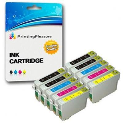 10 Cartuchos De Tinta Compatibles Para Epson Stylus S20 S21 Sx100 Sx105