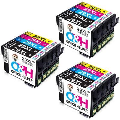 OFFICE HELPER 15-Paquete 29XL 29 XL Cartuchos de Tinta Compatibles con Epson Impresoras Expression Home XP-235 XP-245 XP-247 XP-330 XP-332 XP-335 XP-342 XP-345 XP-430 XP-432 XP-435 XP-442 XP-445