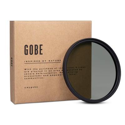 Gobe, Filtro polarizador CPL 58mm Vidrio Alemán Schott, con Recubrimiento múltiple de 16 Capas