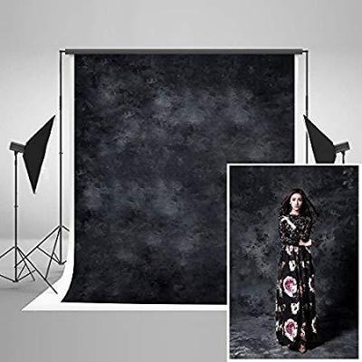 Katehome Photostudios 2x3m Fondo Negro Fotografía Telón De Fondo Para Fotógrafos Retrato Fondos Fotos Microfibra Fotografia