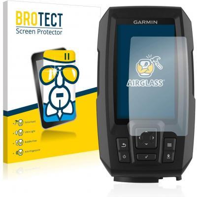 Brotect Protector Pantalla Cristal Compatible Con Garmin Striker Plus 4