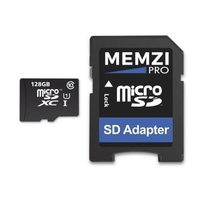 MEMZI 128 GB 80MB s Clase 10 Micro SDXC Tarjeta de Memoria con Adaptador SD para GoPro Hero7