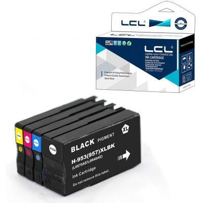 LCL Remanufacturado Cartucho de Tinta Compatible 953XL
