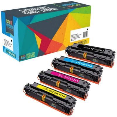 Do It Wiser 4 Cartuchos De Tóner Compatibles Con Hp 131a 131x Hp Color Laserjet Cp1515n Cp1215 M276nw M251n M251nw Cp1217 Cp1510 Cp1514 Cp1515n Cp1518ni