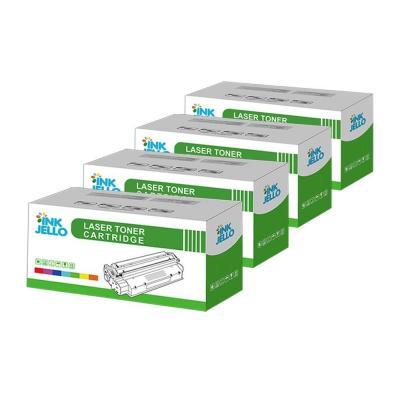 Inkjello Compatible Toner Cartucho Reemplazo Por Hp Colour Laserjet Cm1312 Cm1312n Cm1312nfi Cp1215 Cp1217 Cp1510 Cp1514n Cp1515n Cp1518ni
