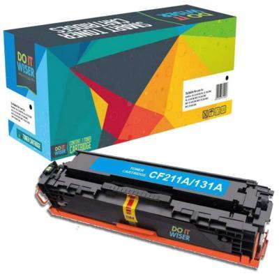 Do it Wiser Cartucho de Tóner Compatible para HP CF211A HP LaserJet Pro 200 color Printer M251n M251n nw MFP M276n M276n nw