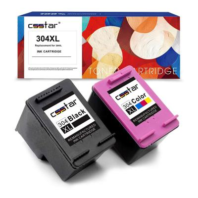CSSTAR Remanufacturado Cartuchos Tinta Reemplazo para HP 304 XL 304XL para DeskJet 2630 2632 3720 2600 2620 3700 3730 Envy 5030 5020 5032 Impresora
