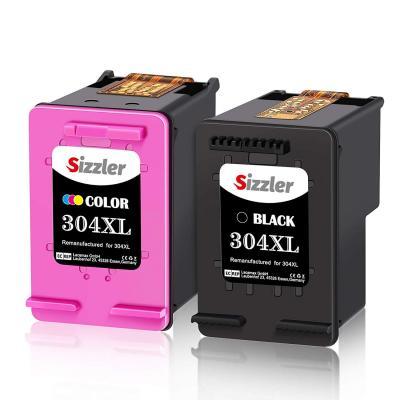 Sizzler 304XL Remanufacturado Cartuchos de Tinta Reemplazo para HP 304 304XL Tinta Compatiable con HP DeskJet 2630 3720 3730 3735 3750 3760 Envy 5030 5032 5020