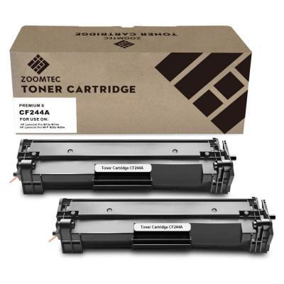 ZOOMTEC CF244A 44A Cartucho de tóner Compatible para HP Laserjet Pro M15a M15w M16a M16w