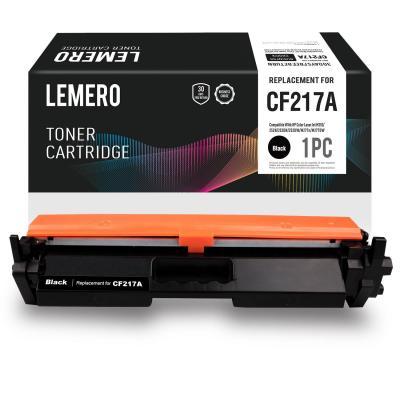 Lemero CF217A 17A Cartucho de Toner con Chip