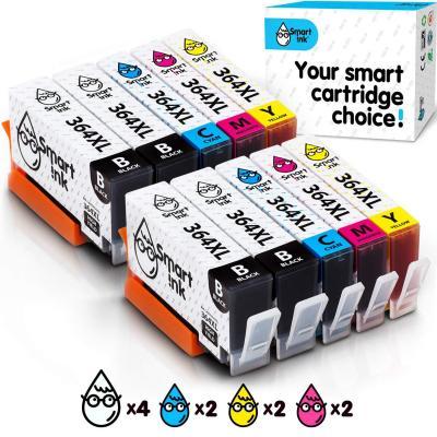 Smart Ink Reemplazo Compatible del Cartucho de Tinta HP 364 XL 364XL High Yield Pack