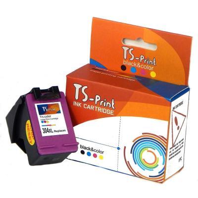 TS-Print Cartucho de Tinta Compatible para HP 304-XL HP-304 XL