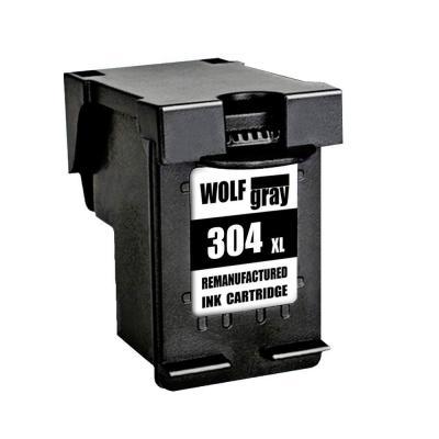 Wolfgray 304XL Remanufacturado Cartuchos de tinta HP 304XL 304 Alto Rendimiento