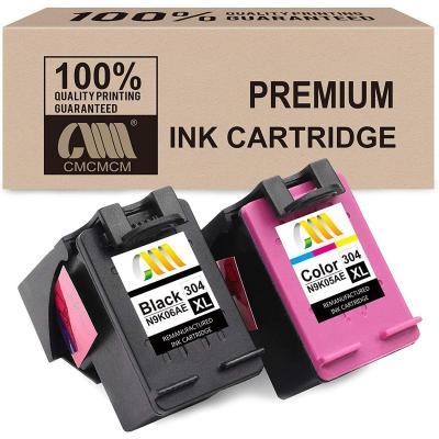 Cmcmcm Remanufacturado Cartucho De Tinta Para Hp 304 304xl Para Hp Deskjet 2630 3720 3730