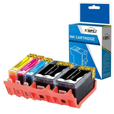 Fimpex Compatible Tinta Cartucho Reemplazo Para Hp Officejet 6820 E-all-in-one Pro 6230