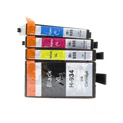 Asta 934xl 935xl Paquete De 4 Cartuchos De Tinta Alta Capacidad Compatible Con Impresoras Hp Officejet Pro 6830 6230