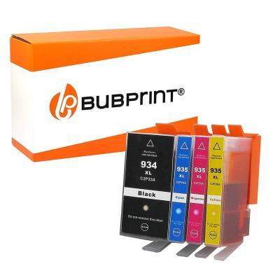 Bubprint 4 Cartuchos De Impresora Compatible Con Hp 934xl 934xl 935xl 935xl Hp Officejet Pro 6230