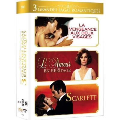 Grandes sagas romantiques : La vengeance aux deux visages + Lamour en héritage + Scarlett Francia