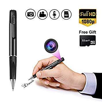 Cámara Oculta: cámara de lápiz espía con 2 Horas de duración de la batería