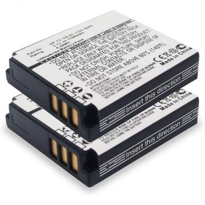 Cellonic 2x Batería Compatible Con Panasonic Lumix Dmc-lx3