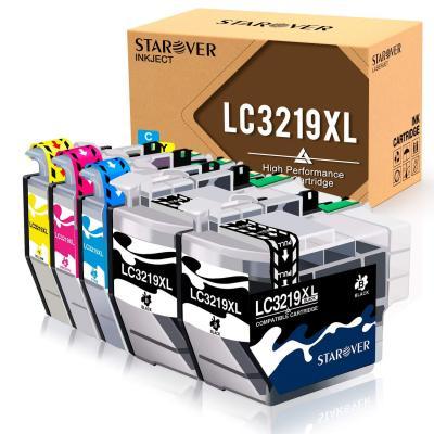 Starover Lc3219 Xl Lc3219xl Reemplazo Para Brother Lc3219xl Cartuchos De Tinta Compatible Con Brother Mfc-j5330dw Mfc-j5335dw Mfc-j5730dw Mfc-j5930dw Mfc-j6530dw Mfc-j6930dw