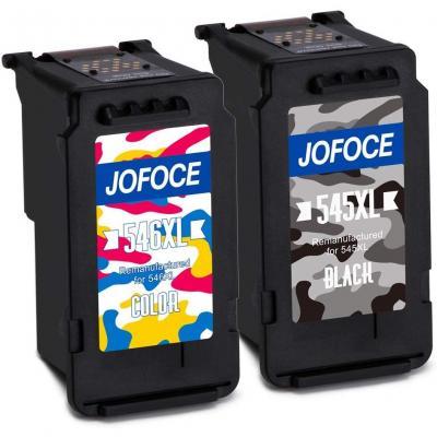 Jofoce Remanufacturado Canon PG-545XL CL-546XL Cartuchos de tinta
