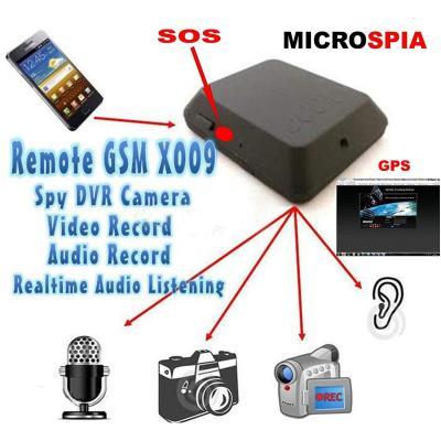Incluye micrófono espía de grabación de vídeo y audio con activación mediante SMS o CS ELETTROINGROS de sonidos