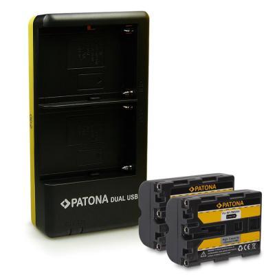 NP-FM500H Cargador de Batería para Sony Alpha A57 A65 A77 A99 A450 A500 A550 A560