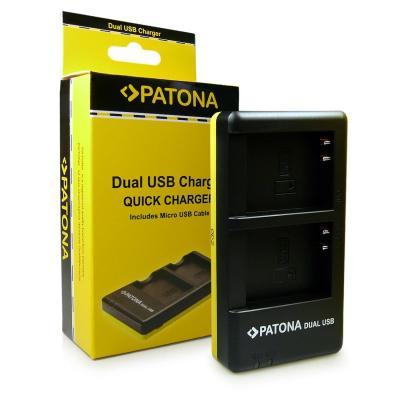 Patona Dual Cargador En-el23 Para Bateria Nikon Coolpix P600 P610 P900