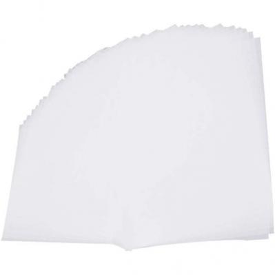 STOBOK 200 unids 16K Papel Transparente Papel de Trazar Translúcido Blanco Papel de Transferencia Copia Caligrafía Escritura Papel de Dibujo