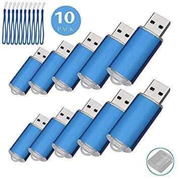 10pcs 1 G USB flash drive usb 2.0 Memory Stick Pen Drive de disco de memoria