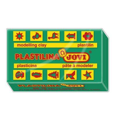 Jovi, Caja de plastilina, 30 Pastillas 50 g, Color Verde Oscuro (7011)