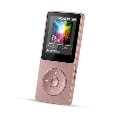 AGPTEK- A02 Reproductor de MP3 8 GB Pantalla de 1