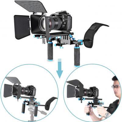 Neewer DSLR película Kit de juego de hacer Rig Sistema de Video para Videocámara o DSLR Cámara Tales como Canon Nikon Sony Pentax Fujifilm Panasonic