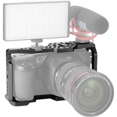 Jaula De Cámara Compatible Para Bmpcc 4k Y 6k Video Rig Para Blackmagic Design Pocket Cinema Camera