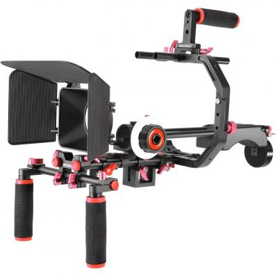 Neewer Kit De Sistema De Vídeo Película para Canon Nikon Sony Y Otras Cámaras DSLR Videocámaras